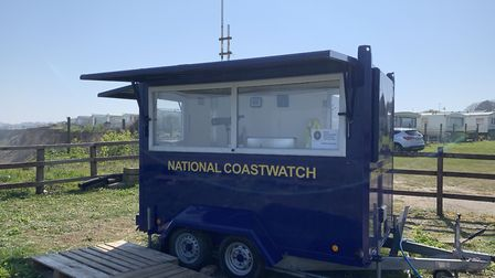 National Coastwatch Cromer is getting a new mobile unit, to replace this one. Picture: Linda Lawrenc