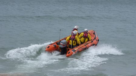 Cromer inshore lifeboat. Picture: RNLI