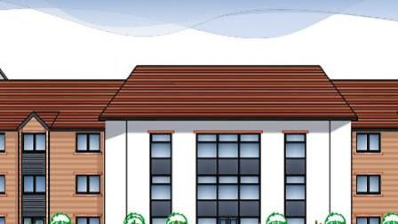 An illustration of a proposed 66-bed care home in Holt. Image: LNT CONSTRUCTION/PLANNING DOCUMENTS