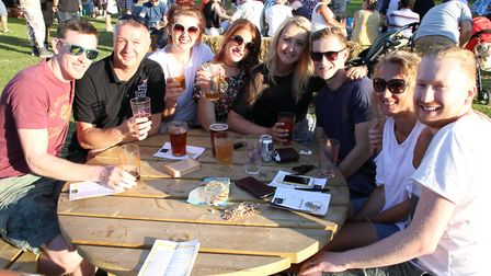 Visitors to a previous North Walsham Beer Festival. Picture: ALLY McGILVRAY