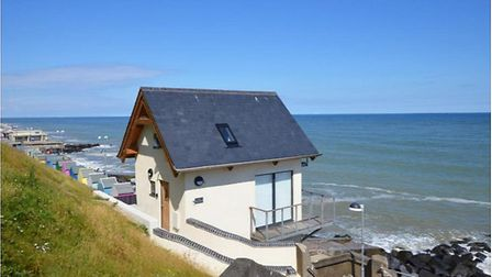 Wee Retreat Cottage in Sheringham, overlooking the beach. Picture: Norfolk Cottages
