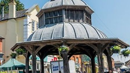 North Walsham town centre. Picture: NNDC