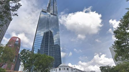 Sir James Dyson's new Singapore home, the Super Penthouse, is on the 62nd, 63rd and 64th floors of t