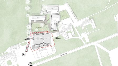 Parents and residents have praised plans for a new education centre at a Norfolk school, funded by a