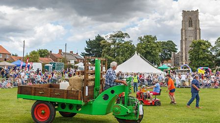 A scene from the Worstead Festival. Pictures: supplied by Sam Outing
