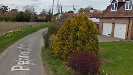 A property was broken into and a purse stolen in Pennygate. Picture: Google Maps