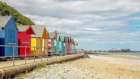 Cromer beach. Picture: Marcus Hickling.