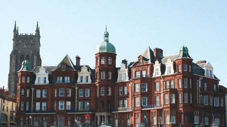 Cromer's Hotel de Paris. It features in the new book, Secret Cromer and Sheringham. Picture: Lorna T