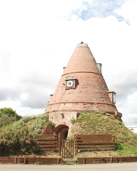 Victorian brick kilns have been renovated to become private homes. They feature in the new book, Sec