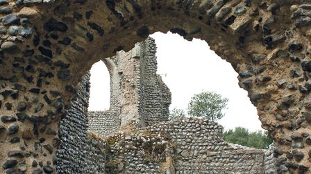 The ruin of Beeston Priory, which features in Secret Cromer and Sheringham. Picture: Lorna Talbott
