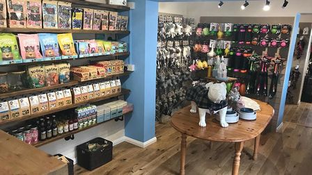 Norfolk's first ever boutique for dogs has opened on the High Street in Holt. Picture: Martin Allan