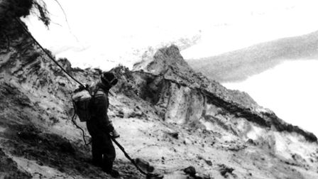 Mine clearance took decades after the Second World War. Pictue: Archant Library