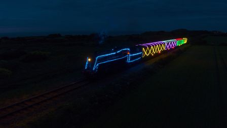The North Norfolk Railway is planning a new 'Norfolk Lights Express' service this Christmas. The her