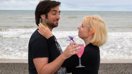 Kyle Fraser stars as Clive in the holiday drama Sunkissed, whcih will be at the Sheringham Little Th
