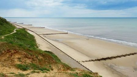 The Coastguard was called to the rescue after a ket ski broke down off Trimingham. Picture: HM Coast