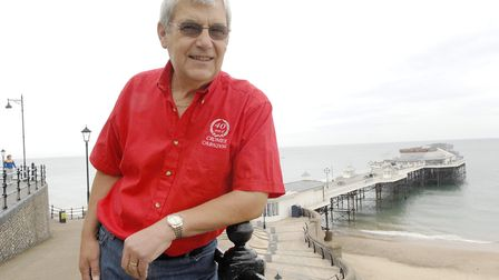 Tony Shipp, who is marking his 35th year as Cromer Carnival ChairmanPhoto: ARCHANT