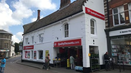 New look QD store in North Walsham. Picture: QD Group
