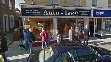 The Auto-Loco shop in Station Road, Sheringham. Picture: Google Maps