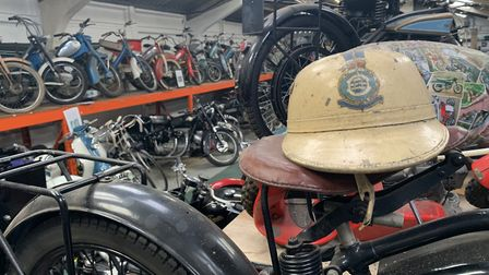 Part of the display at the Norfolk Motorcycle Museum in North Walsham. Picture: Stuart Anderson