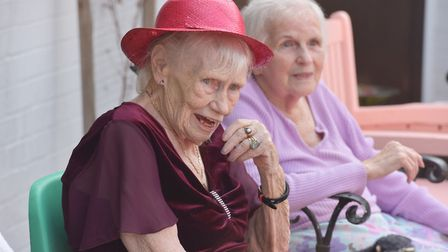 Munhaven care home in Mundesley held a party for residents and colleagues. Byline: Sonya Duncan