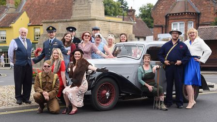 Launch of the Holt 1940s weekend in September. Picture: DENISE BRADLEY
