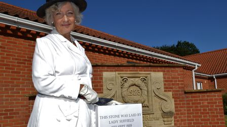 North Walsham War Memorial Hospital's friends group secretary Angie Batson took on the role of Lady