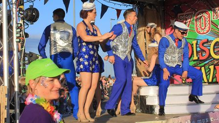 Cromer Carnival parade, which sets off from Runton Road at 7pm on Wednesday.Photo: KAREN BETHELL