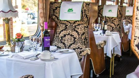 The Austerity Class steam locomotive, The Royal Norfolk Regiment, will take passengers on a fundrais