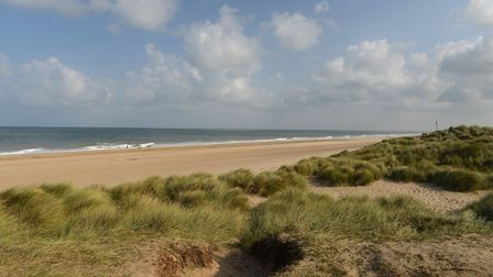 Campaign launched to protect Norfolk sand dunes. Horsey dunes. Pictures: Norfolk County Council