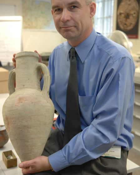 Roman items were dug up in Brampton in the 1970s and 80s and were then bought by Norwich Castle Muse