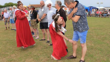 The ever-popular Cromer Carnival knobbly knees contest in 2018. This year's carnival should see most