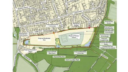 Gladman Developments is proposing a residential development of about 110 homes off Beresford Road, H