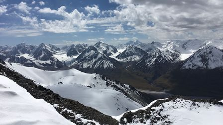 The view from the summit of 'Peak Nomad' on August 29, 2019. Picture: Supplied by Ashley Hale