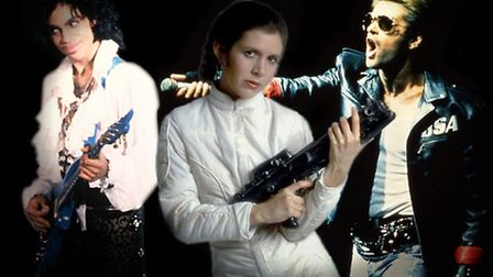 Prince, Carrie Fisher, George Michael