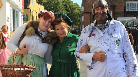 The 1940s weekend at Holt.Photo: KAREN BETHELL
