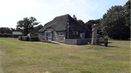 CCTV at the pavilion at War Memorial Park, North Walsham. Pictures: NNDC Planning Documents