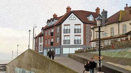 North Norfolk District Council put forward its vision for the former Shannocks Hotel site in Shering