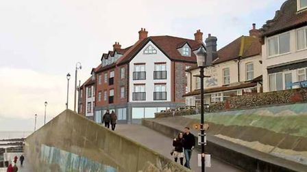 Flashback to 2018 when NNDC put forward its vision for the former Shannocks Hotel site in Sheringham