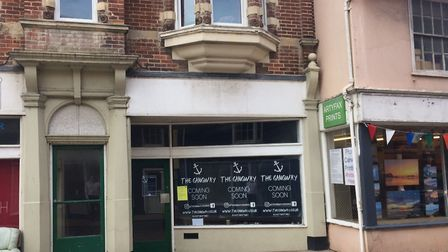 The Gangway micropub is set to open at a former hairdresser's in Cromer. Picture: David Bale