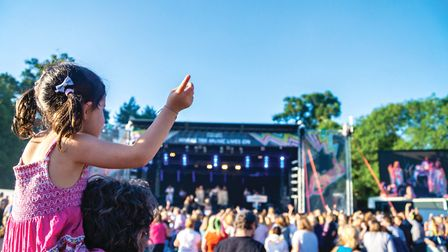Cromer Hall will host two Starlight Concerts next year. Last year's concerts. Pictures: Starlights C