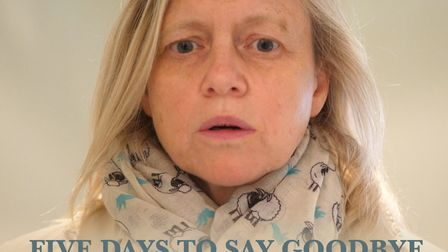 Beverley Bishop has made a film called Five days to say goodbye following the death of her son, Jess