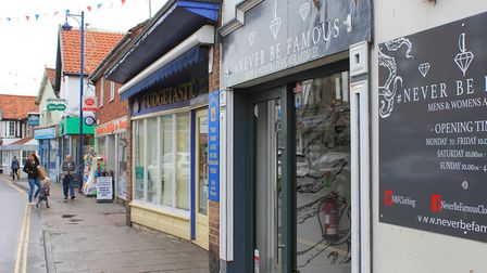 Sheringham clothing shop Never Be Famous, which is the latest in a string of High Street businesses