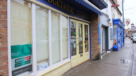 Sheringham confectionary shop Fudgetastic, which will be closing down Monday.Photo: KAREN BETHELL