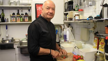 Sheringham restaurant owner Terry Butler, who says the closure of four High Street businesses are 'd