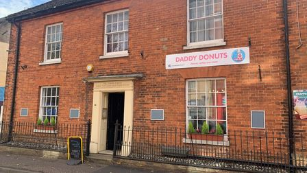 Daddy Donuts in Stalham's High Street. The eatery plans to soon start serving 'donut burgers'. Pictu