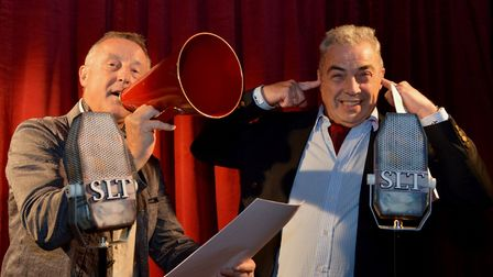 Radio Fun, a comedy show being performed by the Sheringham Little Theatre Players to raise funds for
