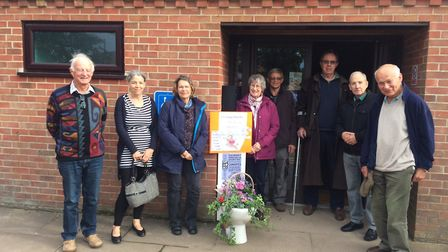 A campaign has started to raise about £34,000 for new toilets at Blakeney village hall. Some of the