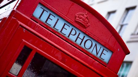 File picture of a red telephone box. Photo from Pixabay/Pexels