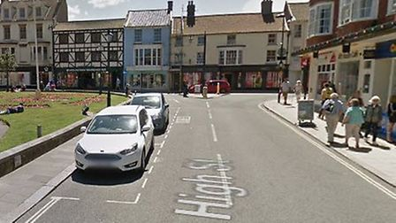 A man was punched and kicked in Cromer High Street. Picture: Google Maps