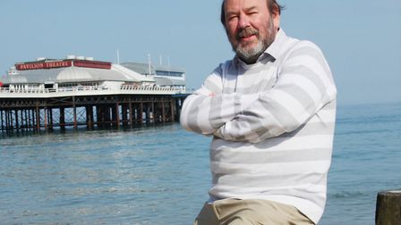 Writer, broadcaster and entertainer Keith Skipper, who teamed up with Sheringham songsters the Shant